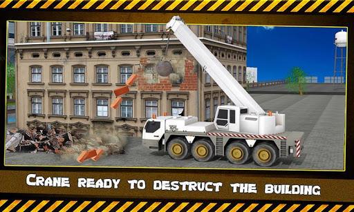 크레인 : 건물의 파괴