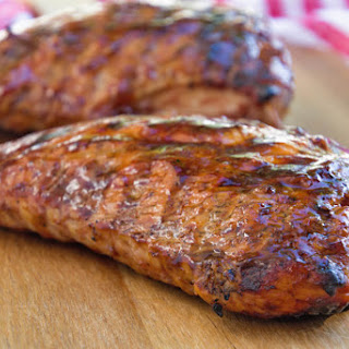 Grilled BBQ Turkey Tenderloin