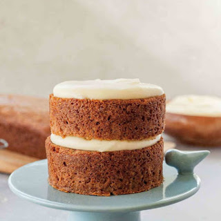 Applesauce Cake with Cream Cheese Frosting.