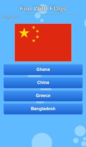 Big Fun With Flags Quiz