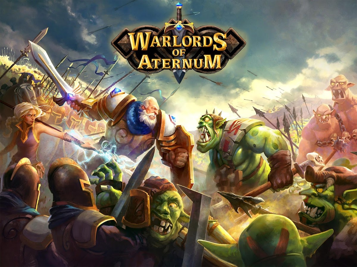 Warlords of Aternum- スクリーンショット