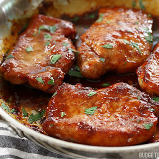 Glazed Pork Chops.