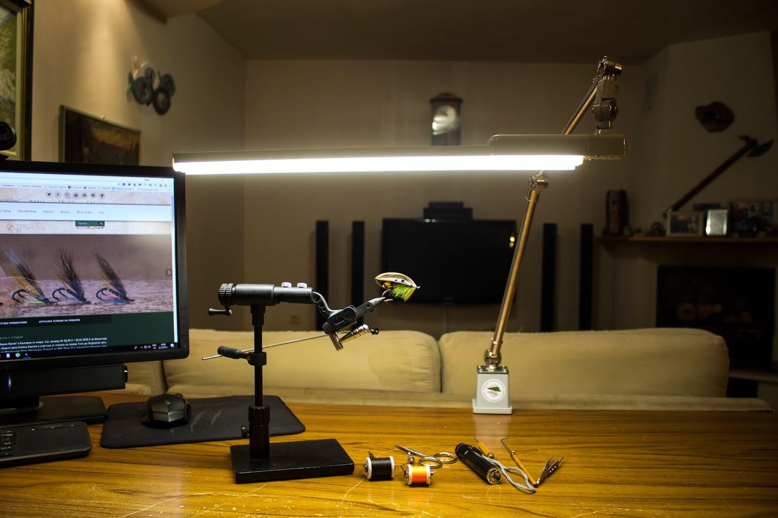 Новата ми LED лампа за връзване