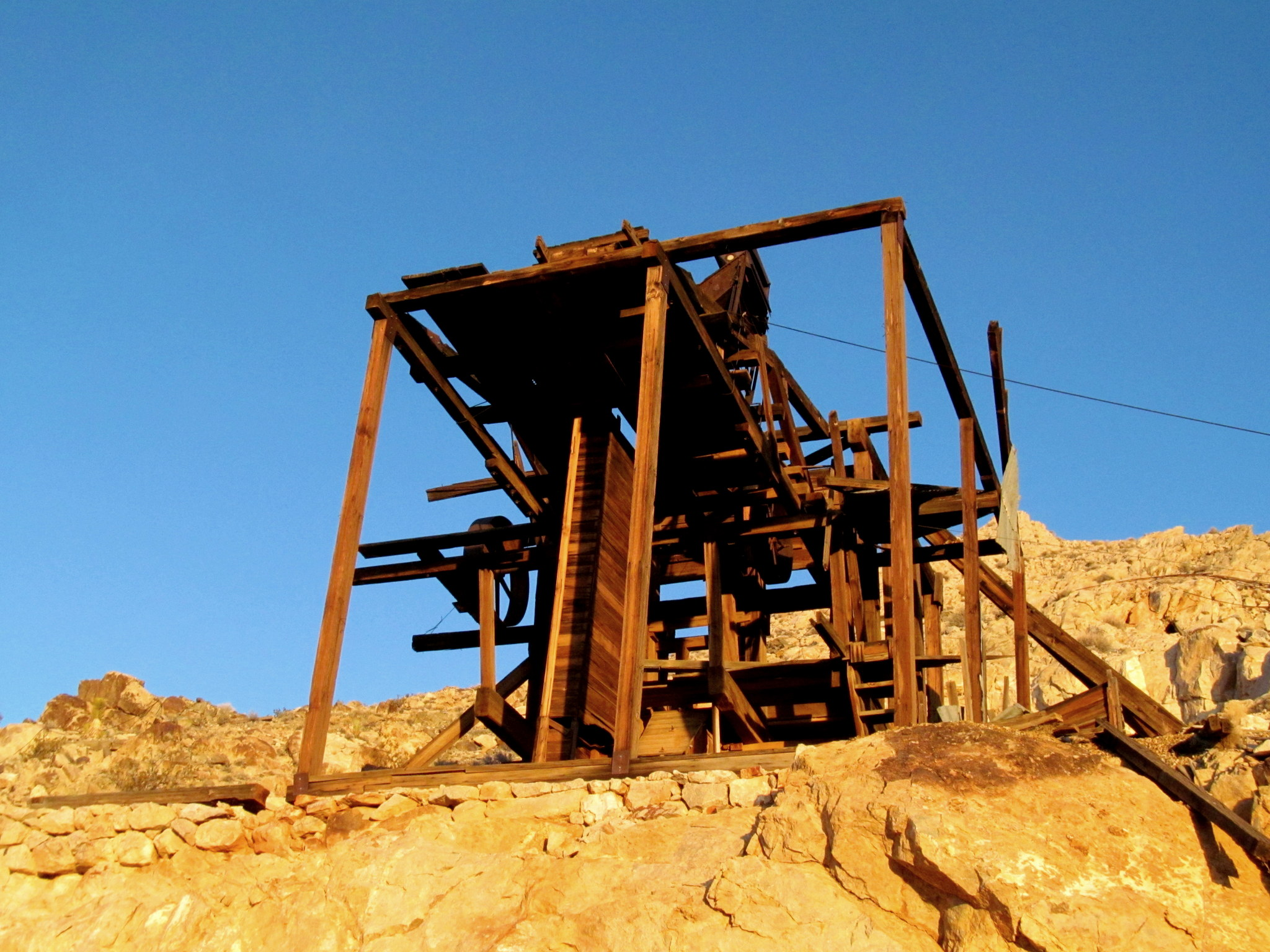 Photo: Ore processing equipment