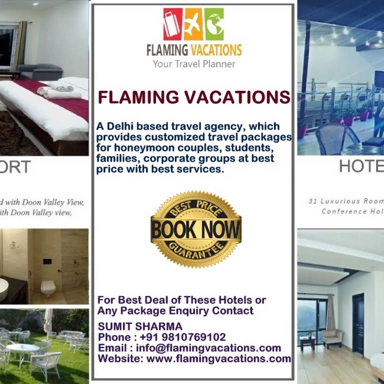 Flaming Vacations - Travel Agency in New Delhi