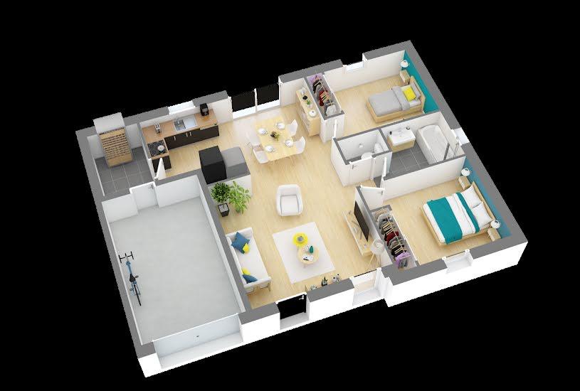 Vente Terrain + Maison - Terrain : 699m² - Maison : 63m² à Coulaines (72190)
