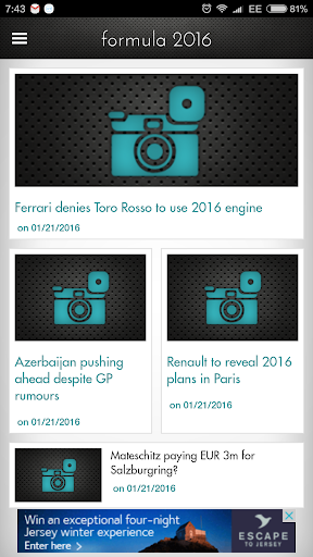 Formula 2016 News And Info