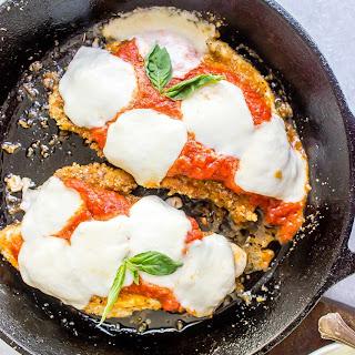 Keto Chicken Parmesan Recipe