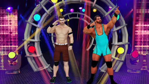 Tag Team Wrestling Game 2020: Cage Ring Fighting screenshots 2