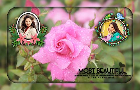 Download Pink Rose Photo Frames For PC Windows and Mac apk screenshot 1