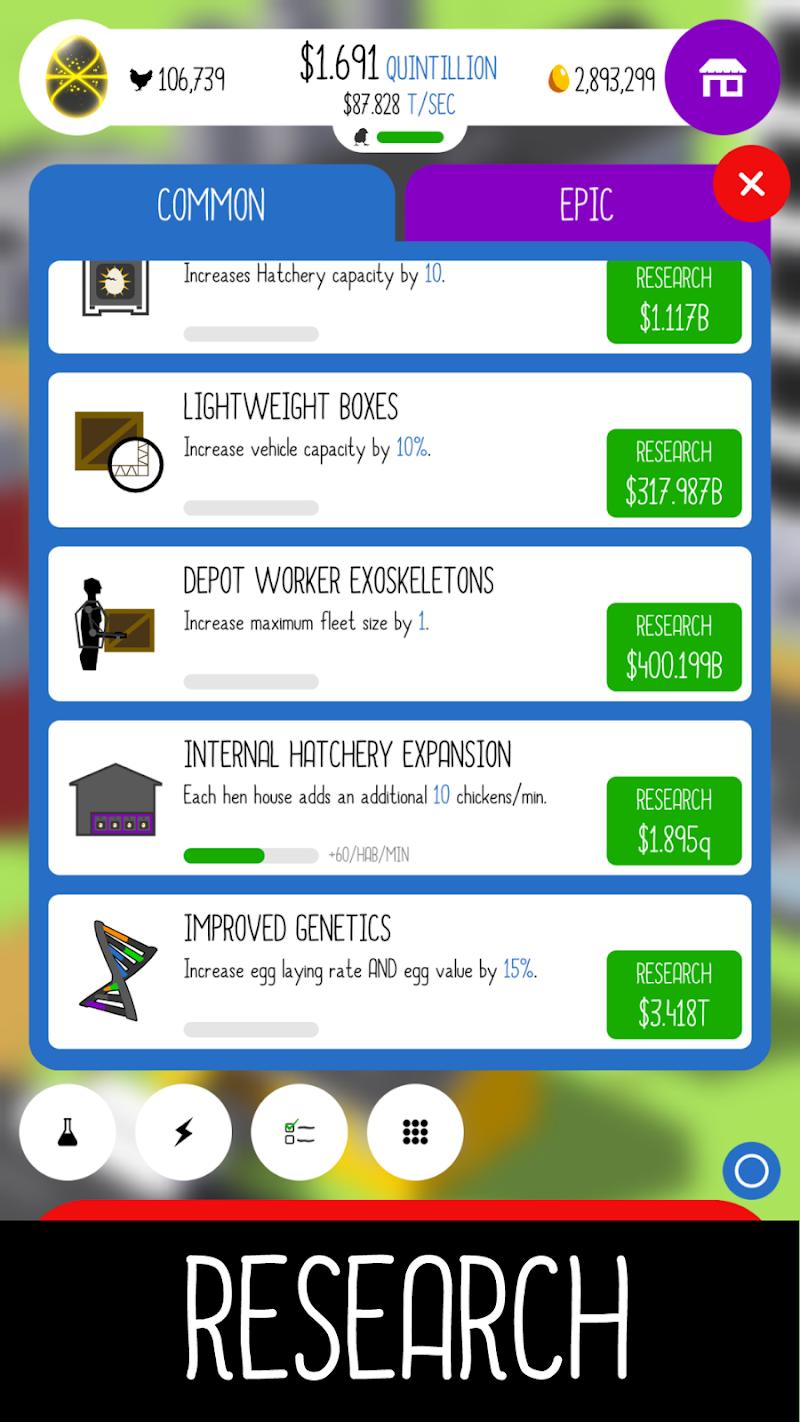 Egg, Inc. Screenshot 1