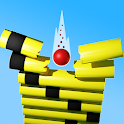 Smash Ball: Fall down & crush stack 3D icon