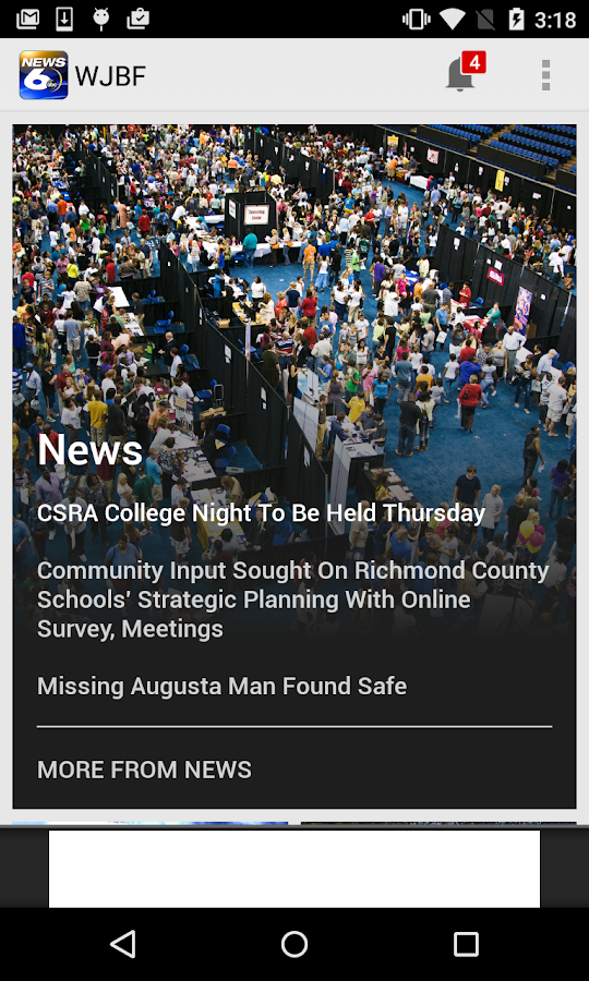 WJBF News Channel 6- screenshot