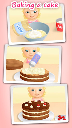 Sweet Baby Girl - Dream House and Play Time screenshot 3
