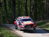 Thierry Neuville crasht in de Rally van Portugal