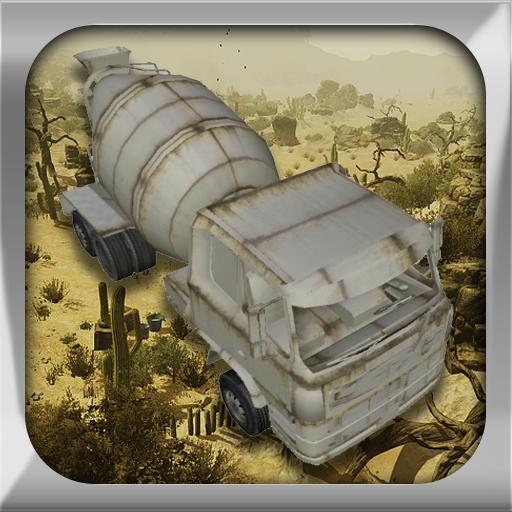水泥3D卡车停车场 模擬 App LOGO-APP試玩