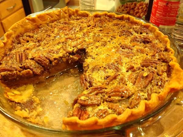 Favorite Pecan Pie With Rum