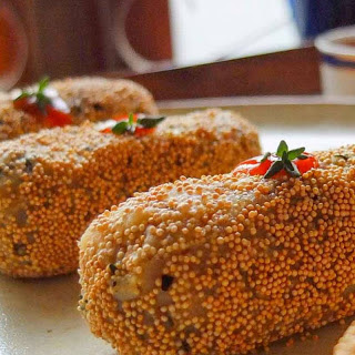 Healthy Amaranth Potato Thyme Croquette