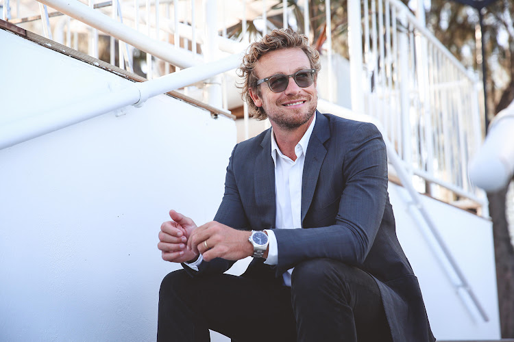 Simon Baker at the Longines Closing Ceremony