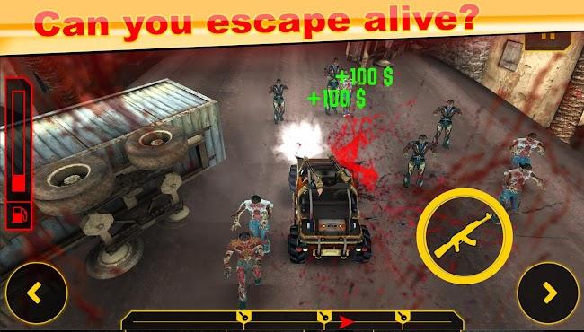 Drive Die Repeat - Zombie Game- screenshot