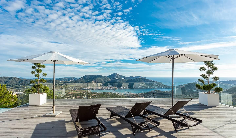 Villa avec piscine en bord de mer Port d'Andratx