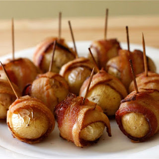 Potatoes Wrapped In Bacon