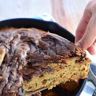 Skillet Nutella Banana Bread