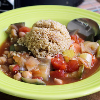 Crock Pot Vegan Moroccan Stew.