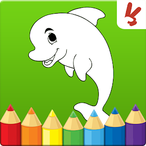 Coloring games for kids animal for PC and MAC