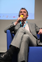 """Photo: Мark Redgrove - final panel discussion - """"Comms Associations' Mission Today""""- 2012"""
