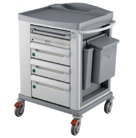 Liten Medicinvagn Basic