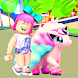 Adopt me jungle roblox's unicorn Legendary Pet