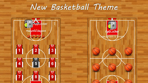 Basket Ball Theme : Mega Lock