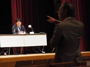 Photo: 鈴木座長と山崎会長