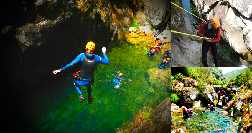 Luna Hotels & Resorts | Web Oficial - MOMENTS OF ADRENALINE RUSH <br> canyoning