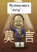 Photo: 大尸兄漫画:我的英文名是shut up