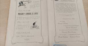 El programa de mano de 1910 explicaba la Gran Traca Valenciana como fin de fiesta
