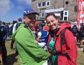 Photo: 3- 6-месечната Наталия м мама и татко изкачи Черни връх