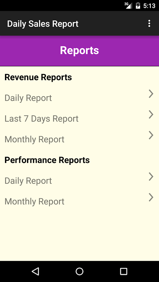 Daily Sales Report Android Apps on Google Play – Daily Performance Report Format