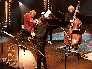 Photo: Rob van den Broeck/Ali Haurand/Alan Skidmore - European Jazz Ensemble - 25. Intern. Jazzfestival Viersen 2011 - Festhalle Bühne 1