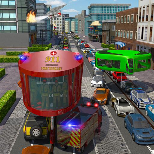 Fire Rescue Gyroscopic Bus: City Ambulance Driver