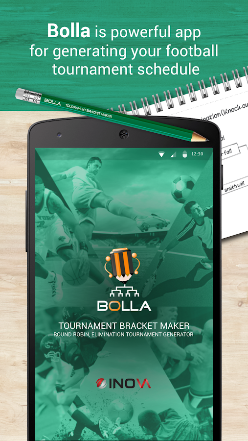 Bolla Tournament Bracket Maker- screenshot