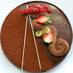Chocolate Gateau Maximus!  by Benjamin Arthur - Food & Drink Candy & Dessert ( greed, cake, desert, benjamin, pudding, benjaminarthur.com, photography, gourmand, fine food, chocolate, choccy, photographer, gourmet, arthur, choc )