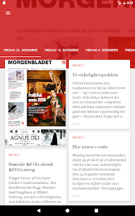Morgenbladets eAvis- screenshot thumbnail