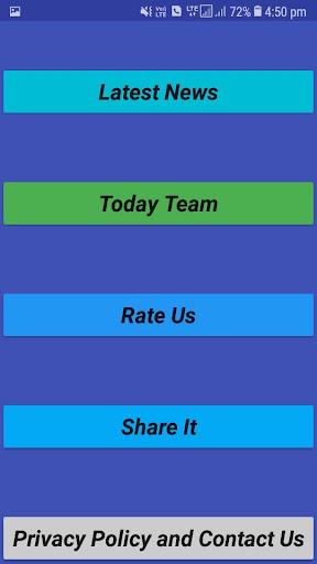 Best Dream 11 Teams 4.4.4.4 screenshots 3