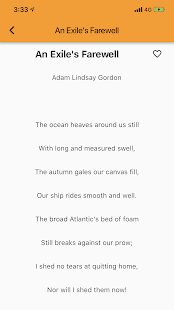 Rhyming Modern Poems Reader - Read Famous Poetry for PC-Windows 7,8,10 and Mac apk screenshot 3