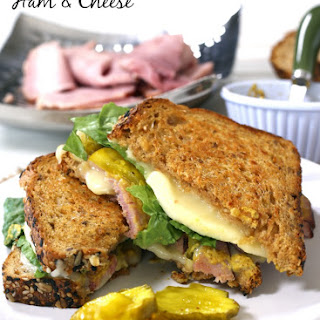 Grown-up Ham and Havarti Grilled Cheese.