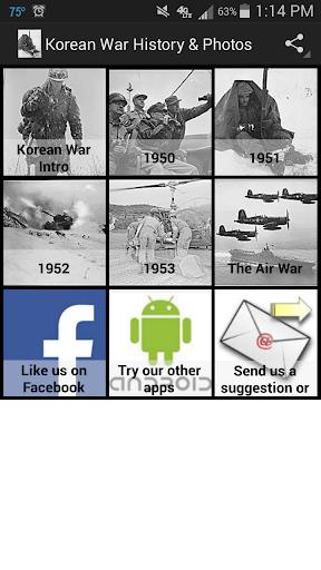 Korean War History Photos