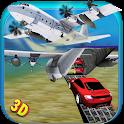 Car Transporter Cargo Plane icon