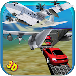 Car Transporter Cargo Plane Icon